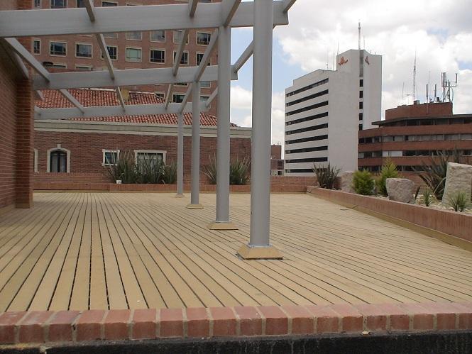 38 madera pl stica maderplast perfiles maderas inmunizadas - Balcones de madera ...