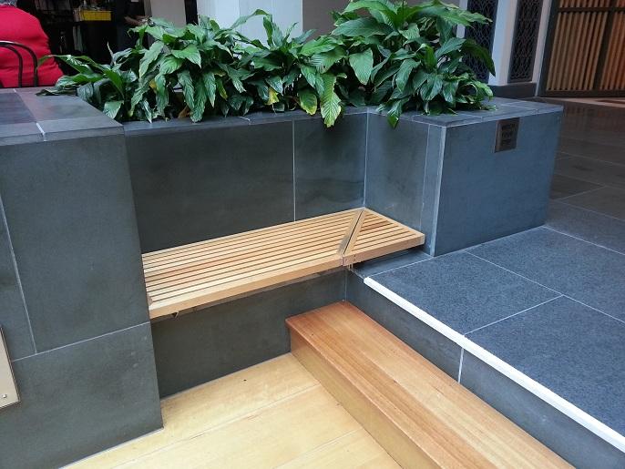Dise o banqueta rusticas - Muebles de jardin modernos ...
