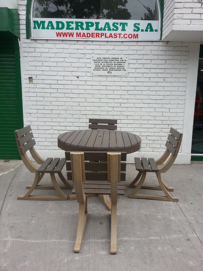 30 muebles campestres exteriores interiores mobiliarios for Sillas teka jardin